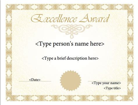 free certificate templates certificates templates free search results