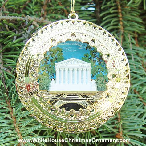 2004 supreme court ornament washington dc gift shop