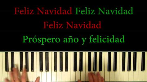 feliz navidad you tube children christmas plays how to play feliz navidad merry piano and singing ptm