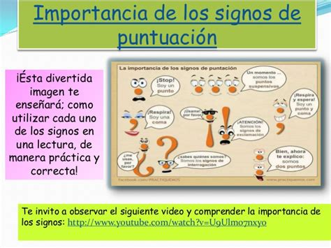 youtube signos de puntuacion los signos de puntuacion