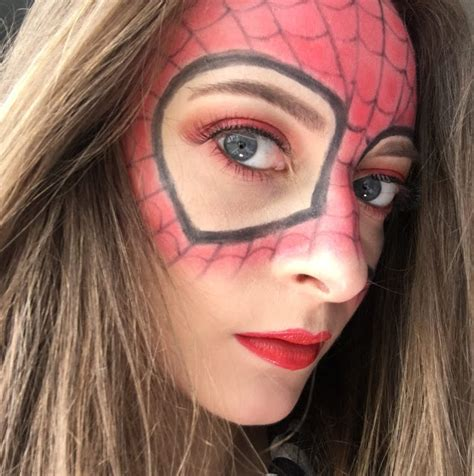 makeup homecoming f b l savvy spider homecoming makeup