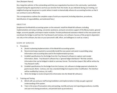 proposal letter template proposal letter template free