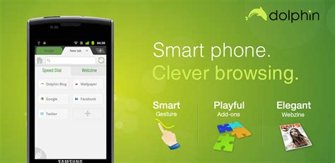 dolphin browser for android dolphin browser le top pour surfez sur le web chinandroid