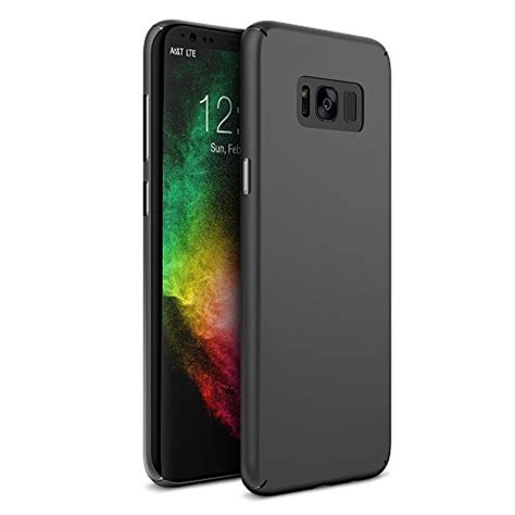 Samsung S8 Plus Slim Matte Soft Quality Black maxboost galaxy s8 plus msnap fit black samsung galaxy s8 s8 plus anti