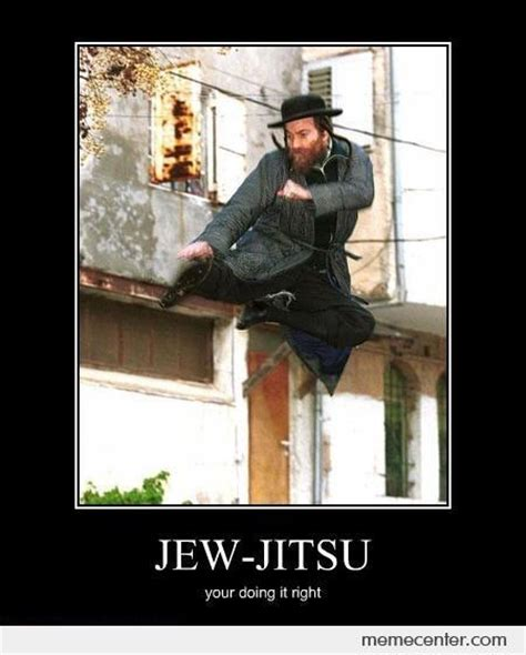 Funny Jew Memes - jew jitsu by ben meme center