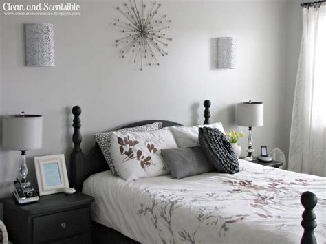 Light Gray Bedroom Walls Master Bedroom Makeover Clean And Scentsible