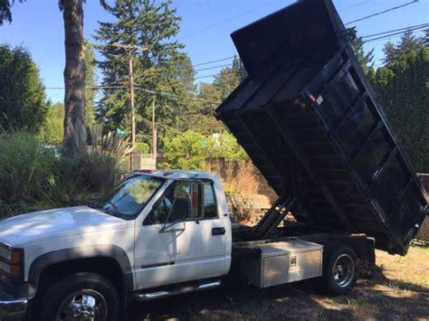 kenmore trucks 2000 gmc dump truck low mileage work ready cars