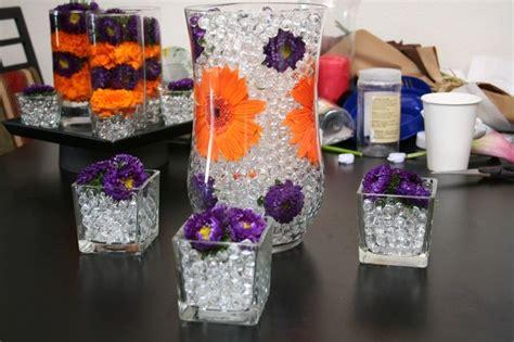 Purple And Orange Wedding Centerpieces Purple And Orange Purple And Orange Centerpieces For Weddings