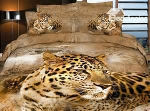 Animal Print Duvet Cover Queen Beautiful Wild Big Leopard Print 4 Piece Duvet Cover