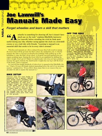 Mba Magazine Pdf by Your Beginner More Intermediate Road Bike Brake Components