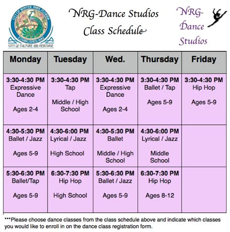category winter park dance studio 1st dance class free