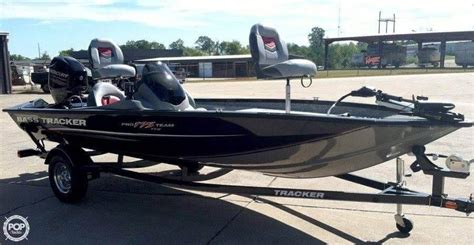 used bass boats for sale chattanooga 2015 used bass tracker pro 175 txw bass boat for sale