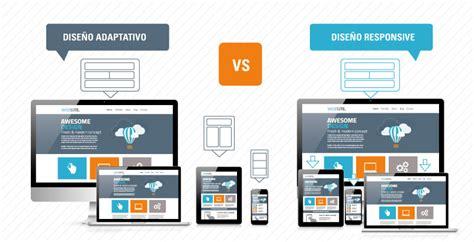 imagenes diseño web responsive dise 241 o web adaptativo vs responsive 191 cu 225 l es la mejor