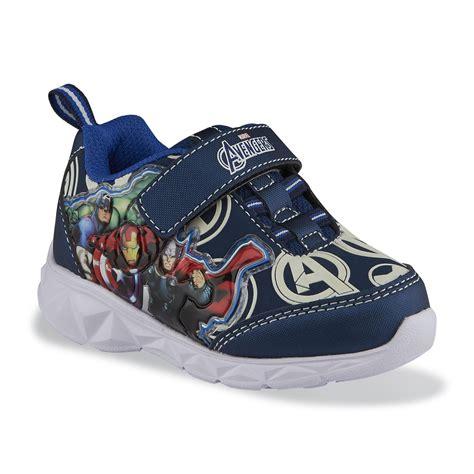 disney light up shoes disney boy s avengers blue multicolor light up