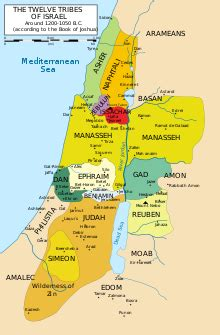 Yosua Tribal daftar nama tempat dalam perjanjian lama