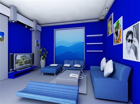 warna cat dinding ruang tamu tampak elegan