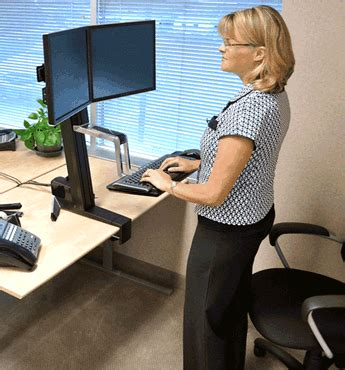 Sit Stand Desk Top Workstation Sit Stand Workstations Fact And Fiction United Health Kent