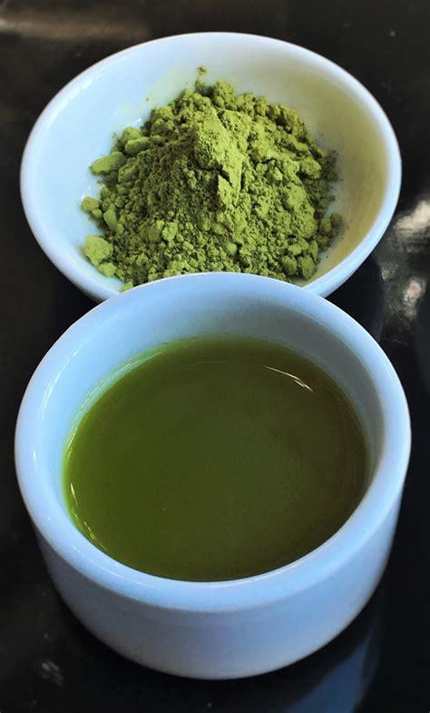 Teh Hijau Bubuk apakah green tea dan matcha berbeda imas riyanti