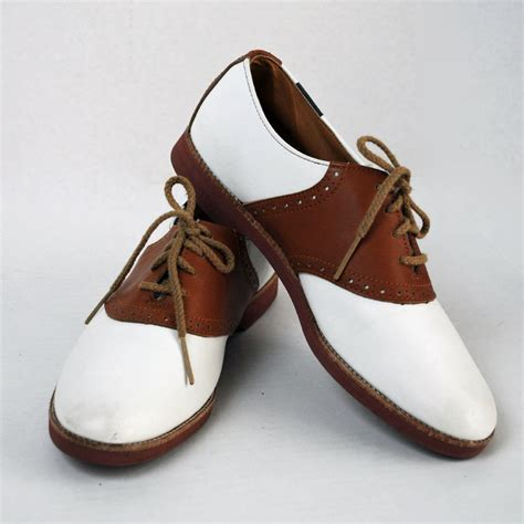 saddle oxfords shoes vintage shoes lace up saddle oxfords two tone womens vintage