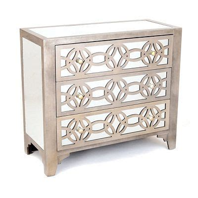 libby silver mirrored dresser libby silver mirrored 3 drawer chest home decor