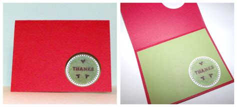 make photo thank you cards make a circle punched thank you card dollar