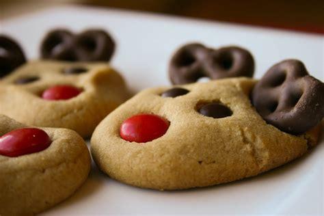images of christmas cookies bakergirl peanut butter reindeer cookies