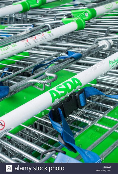 shopping asda stock photos shopping asda stock images asda shopping trolley stock photos asda shopping trolley
