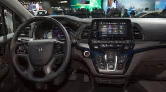 Honda Odyssey Interior 2018 Honda Odyssey Release Date Price Specs Engine