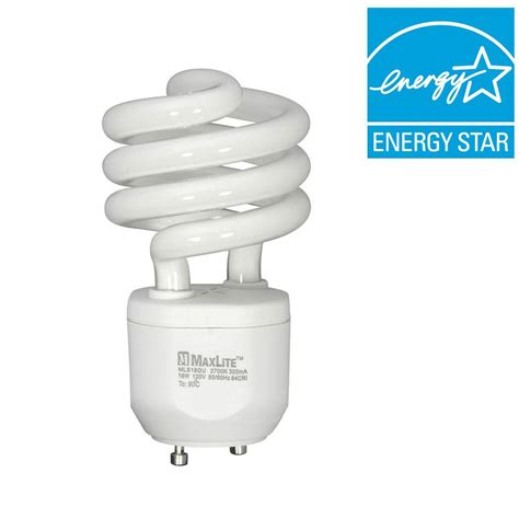 Lu Philips Spiral 18 Watt philips 9 watt soft white 2700k cflni pl s 2 pin g23 cfl