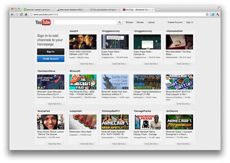 new youtube layout iphone new youtube layout in the works general discussion