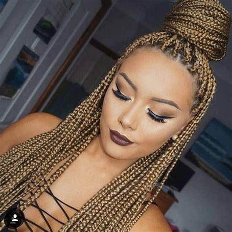 womens hairstyle the box style best 25 colored box braids ideas on pinterest box braid
