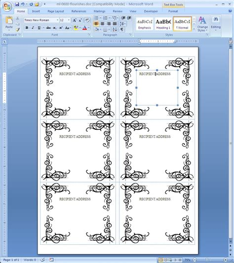 sticker template word avery 5164 macolabels