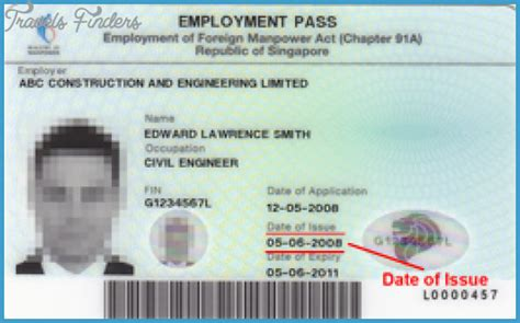 Work Permit After Mba In Singapore by How To Get Employment Pass In Singapore Travelsfinders
