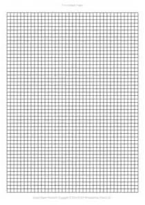 a4 graph paper template pdf 5mm squares 210 215 297 mm
