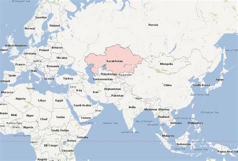 map world kazakhstan kazakhstan map and kazakhstan satellite images