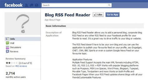 rss feed template better fan page essential tips apps and