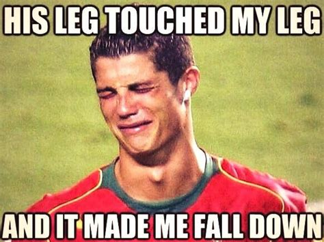 Cristiano Ronaldo Meme - cristiano ronaldo crying memes win twitter after germany