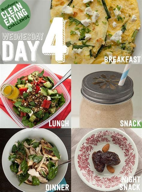 Buzzfeed Detox Plan by Day 4 Of The Clean Challenge