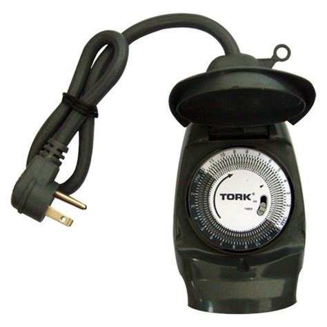 Outdoor Lights Timer Not Working Tork 602a Heavy Duty Mechanical Outdoor Timer