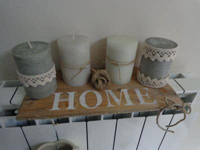 composizione candele candele country composizione per la casa e per te