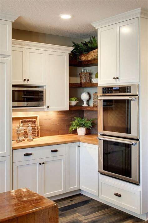 upper corner cabinet ideas kitchen  athomebyte