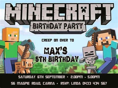 free minecraft party invitations mickey mouse invitations templates