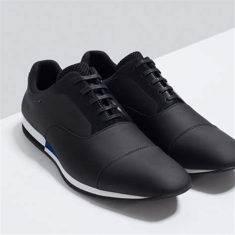 Casual Zara zara casual contrast lace ups shoes shoes