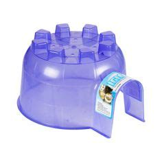 Pet Accessoris Tempat Minum Hamter rocket bath house for hamsters stuff for pet hamsters