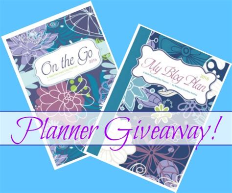 home giveaways giveaway 10 my planners 10 on the go planners win