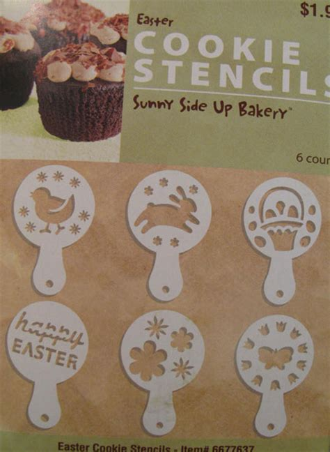 Stencils For Cookie Decorating by Decorate Your Easter Cookies