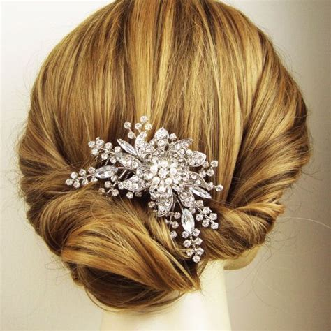 pearl hair style pics stones and pearls hair comb collection womenitems com