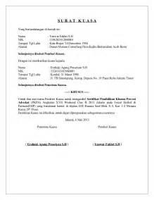 contoh surat kuasa khusus wanprestasi wisata dan info sumbar