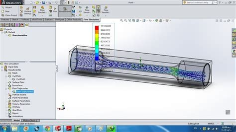 tutorial solidworks flow simulation 2011 tutorial 19 solidworks flow simulation free 3d model