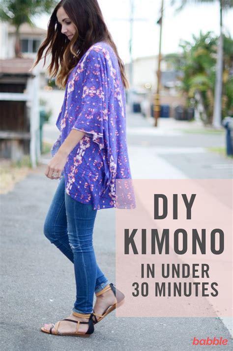 kimono jacket pattern diy diy this pretty kimono in less than 30 minutes